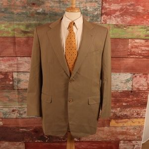 Canali Proposta Beige Sports Coat Size 44 Long